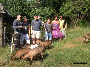 Agri Rando Activity with friends in Limousin