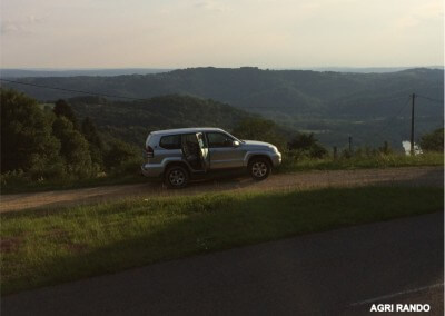 Guided tourist circuit in 4x4 (jeep) - Dordogne Valley - Agri Rando