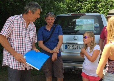 Tourist activity in Family in Corrèze - Agri Rando